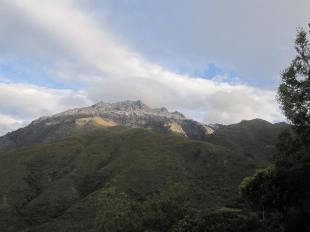 Vista del Pico El Toro, desde Los Nevados