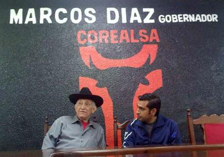 Marcos Diaz taurino