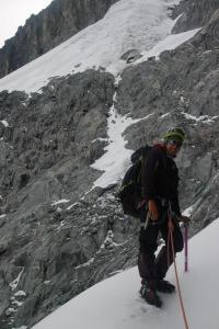 Iniciando el ataque al glaciar