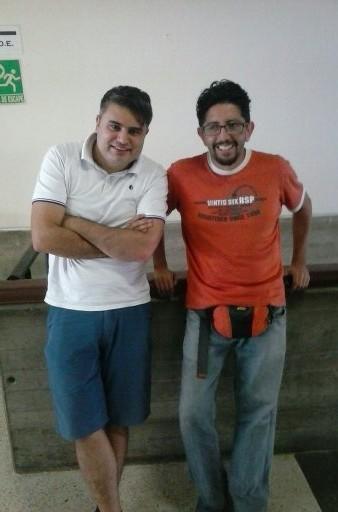 Con Edgardo y TLT